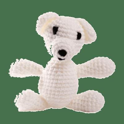 ursulet-manole-alb